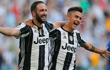Gonzalo Higuaín y Paulo Dybala los héroes de la Juventus