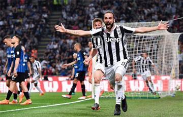 Juventus de Higuaín y Dybala cerca de ser campeones de la Serie A de Italia