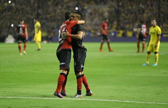 Newell's vs Independiente. Foto: Twitter