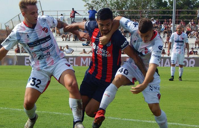 San Lorenzo empató sin goles ante Patronato en Párana (Foto: Facebook)