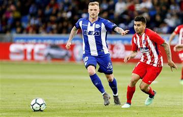 Atlético de Madrid de Diego Simeone ganó y se mantiene segundo en LaLiga