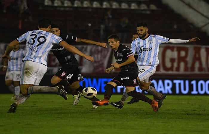 El Globo venció 3-2 a Atlético Tucumán con goles de Ignacio Pussetto, Pablo Álvarez, y Nicolás Silva. (FOTO: Facebook)