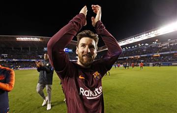"""Lionel Messi tras coronarse campeón: """"Ganar LaLiga sin perder tiene mucho mérito"""""""