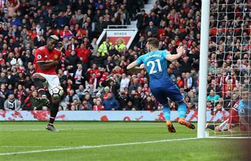 Manchester United derrotó 2-1 al Arsenal por la Premier League