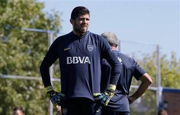 Boca respalda a Agustin Rossi