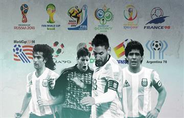 Selección Argentina: el historial de la 'albiceleste' frente a sus rivales en los mundiales