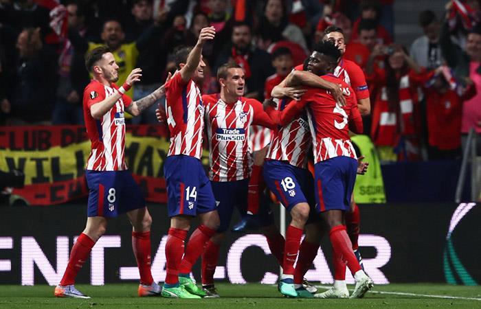 Atlético de Madrid es finalista de la Europa League tras ganarle por la mínima al Arsenal