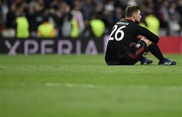 Champions League: Sven Ulreich lamentó su blooper en el partido ante el Real Madrid
