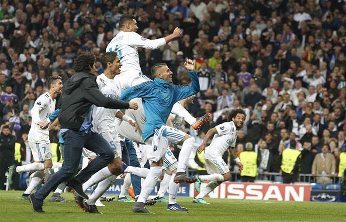 El Real Madrid volvió a clasificarse a la final de la Champions League. (EFE)