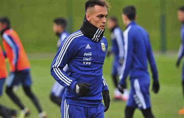 Selección Argentina: desde Chile piden a Lautaro Martínez en el mundial