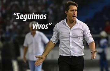 """Guillermo Barros: """"seguimos vivos"""""""