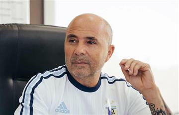 Jorge Sampaoli cerró la gira en Europa con Fazio y Perotti