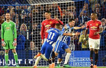 Manchester United con Marcos Rojo fue derrotado por el Brighton en la Premier League