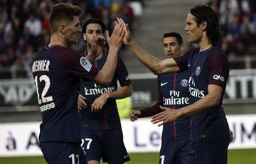 PSG de Ángel Di María consiguió un gran empate ante el Amiens