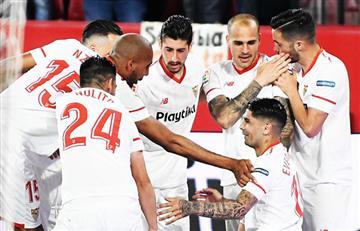 Sevilla con Mercado y Banega logró imponerse ante la Real Sociedad por La Liga