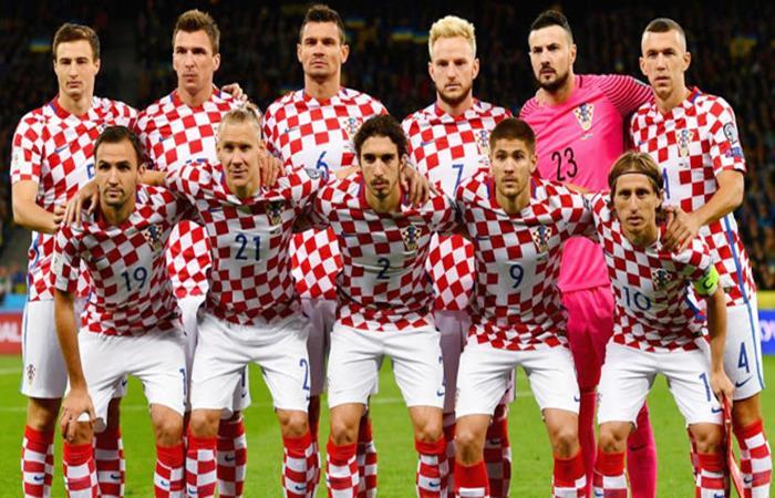 Selección de Croacia. (AFP)
