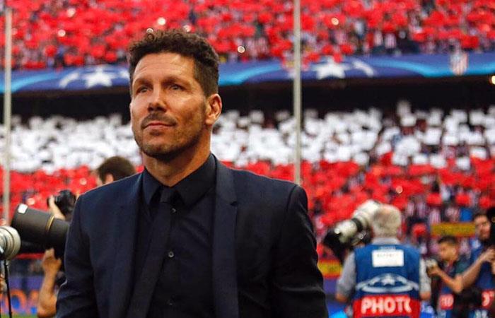 UEFA sanciona a Diego Simeone con cuatro partidos