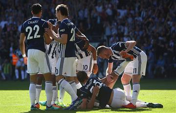 West Brom de Claudio Yacob consiguió un gran triunfo ante el Tottenham