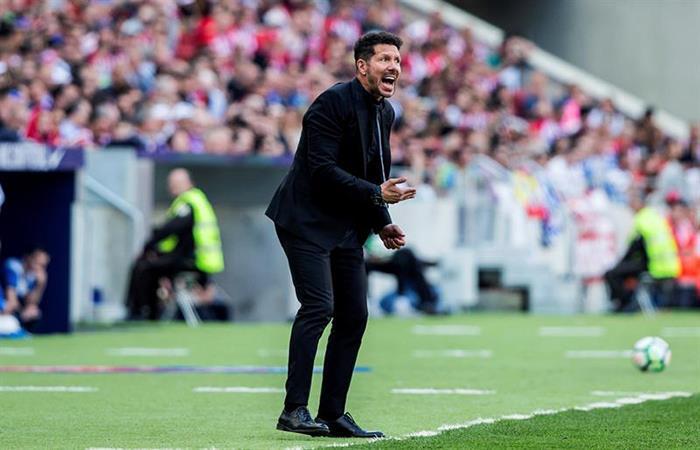 Atlético de Madrid de Diego Simeone decepcionó y cayó como local