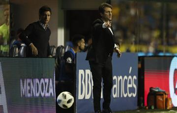 """Guillermo Barros Schelotto: """"Esperamos dar la vuelta el miércoles"""""""