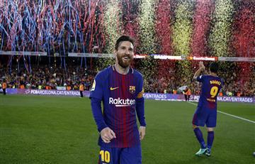 Lionel Messi lidera la lista de jugadores para ganar la Bota de Oro