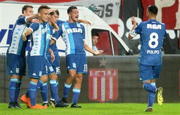 Racing logró un triunfazo en La Plata y sueña con llegar a puesto de Copa Libertadores