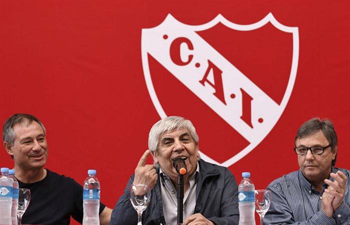 Hugo Moyano: 'No me voy a ir de Independiente'