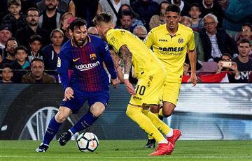 Barcelona con golazo de Lionel Messi derrotó 5-1 a Villareal por La Liga