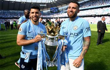 Manchester City de Agüero y Otamendi baten récord en la Premier League