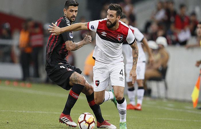 Newell's necesita un triunfo histórico para clasificar a la siguiente ronda de la Copa Sudamericana. (EFE)