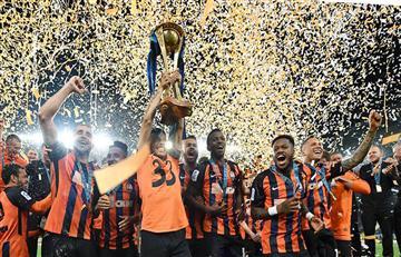 Shakhtar Donetsk con Facundo Ferreyra se coronaron campeones de la Copa de Ucrania