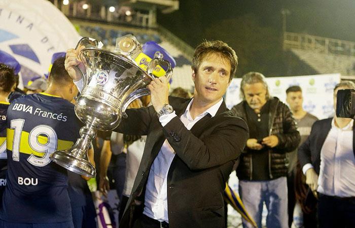 Boca de la mano de Guillermo es bicampeón de la Superliga Argentina (Foto: Twitter)