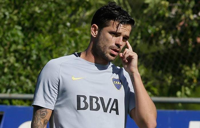 Fernando Gago estará concentrado para medirse ante Huracán (Foto: Facebook)