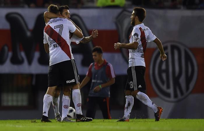 River Plate consiguió un nuevo triunfo y reafirma su buen momento. (FOTO: Facebook)