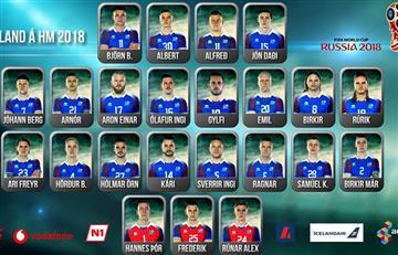 Selección Argentina: Islandia anunció a su 23 jugadores para el Mundial
