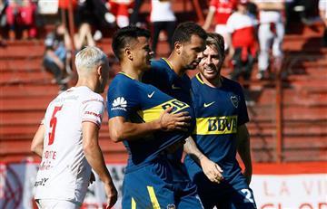 Boca Juniors empató 3-3 con Huracán en partidazo por la última fecha de la Superliga