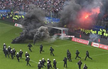 Hamburgo desciende en la Bundesliga y sus hinchas desatan la locura