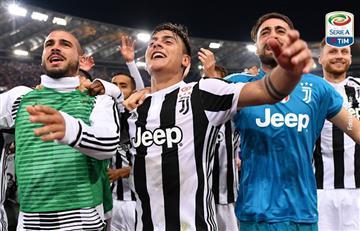 Juventus se consagró campeón de la Serie A por séptima vez consecutiva