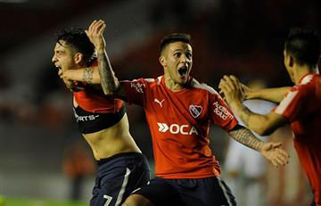 Unión de Santa Fe ya gana 1-0 Independiente EN VIVO ONLINE por la Superliga