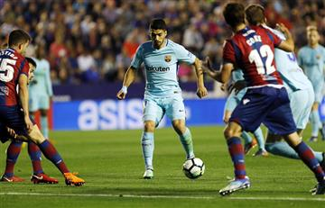 Barcelona sin Messi dejó escapar el invicto al perder contra el Levante