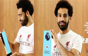 Mohamed Salah gana un nuevo premio y amenaza con destronar a Lionel Messi