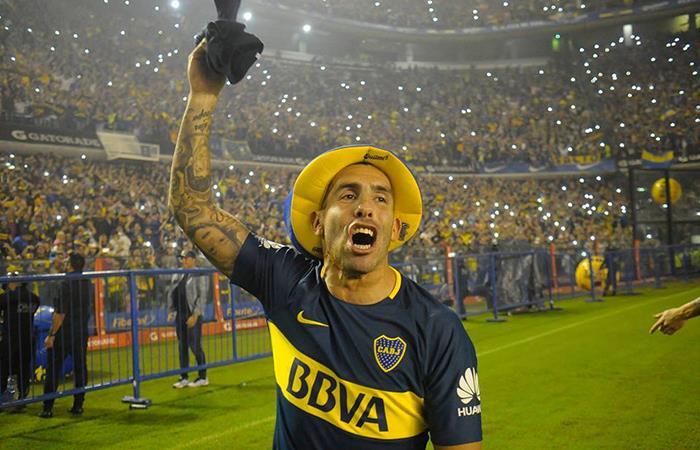 Tevez explica por qué no saludó a Teo Gutiérrez en Copa