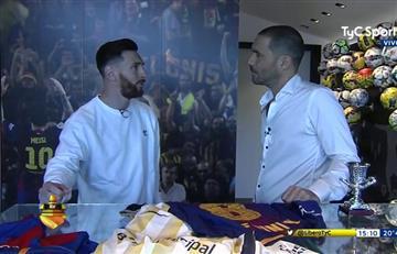 """Lionel Messi: """"Estar entre los cuatro primeros, es hacer un buen Mundial"""""""