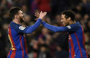 """Lionel Messi: """"Neymar en el Real Madrid sería un golpe durísimo"""""""
