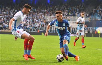 Racing cada vez más lejos de Lautaro: Inter no lo prestará