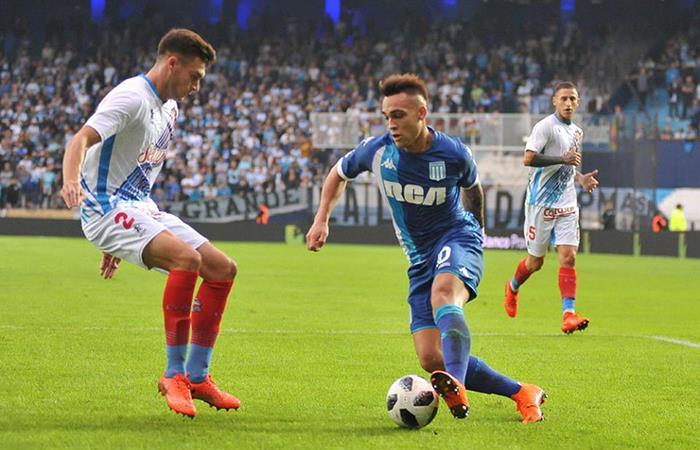 Lautaro Martínez irá al Inter después del Mundial. Foto: Facebook