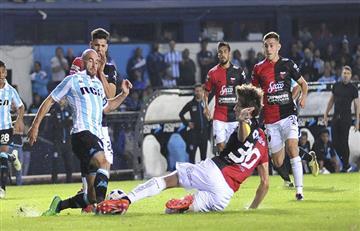 Racing no pudo ante Colón y se queda fuera de la Copa Libertadores 2019