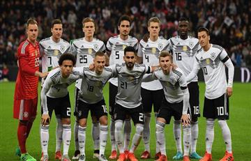 Rusia 2018: Alemania anuncia lista preliminar para el Mundial