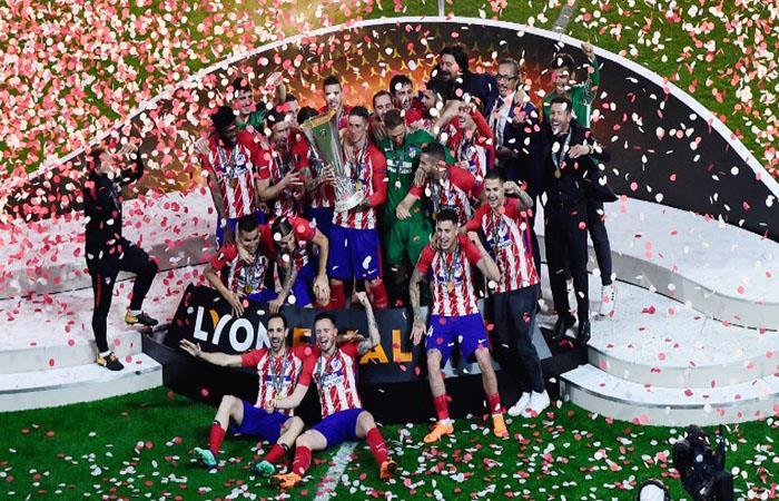 El Atlético del Cholo Simeone va por otra Europa League