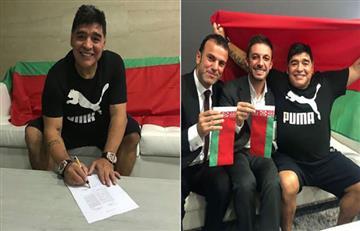 Diego Maradona es nuevo presidente del Dinamo Brest